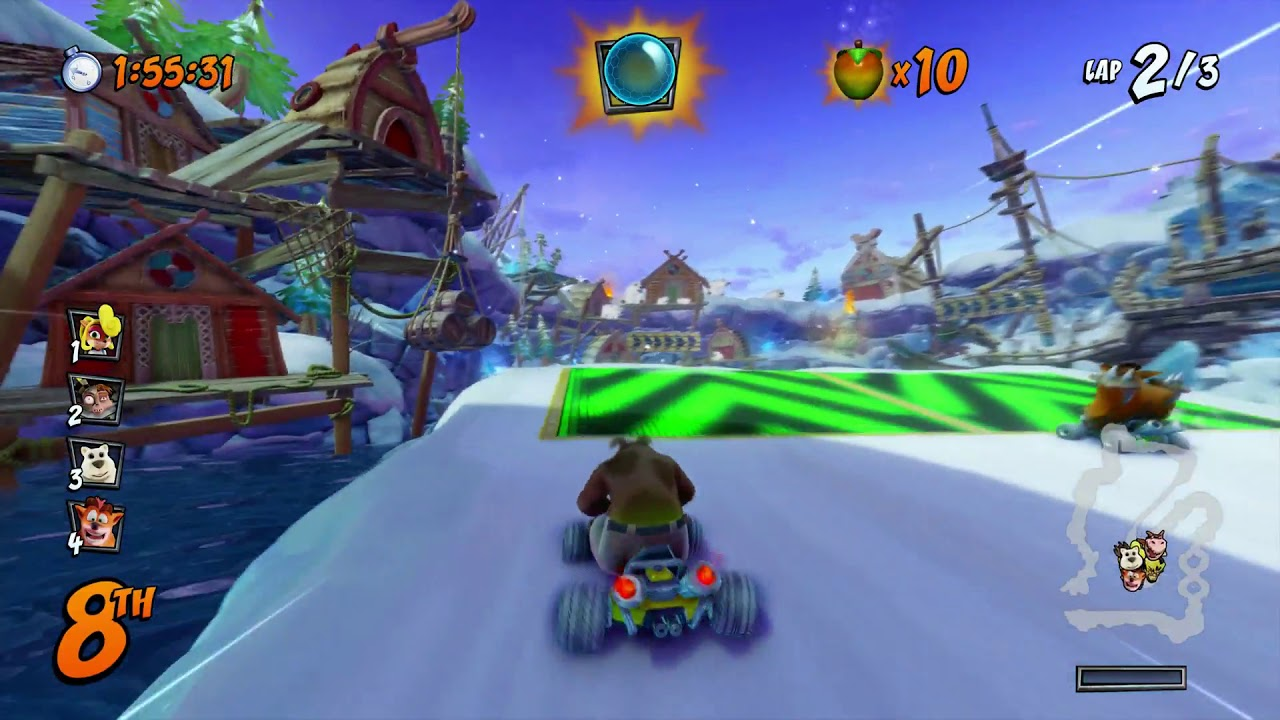 Crash Team Racing: Nitro-Fueled hands-on -- Like Mario Kart, with