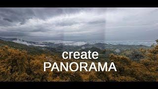 Photoshop : How to create Panorama