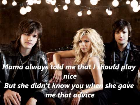 The Band Perry Done with Lyrics