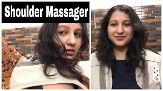 Amazon Shoulder Massager Shawl Review Demo in Hindi/ shoulder pain relief massager