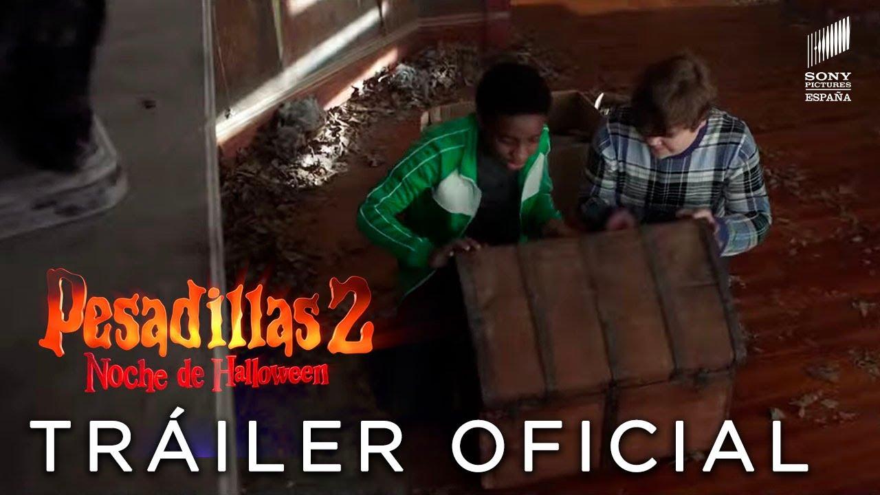 PESADILLAS 2: NOCHE DE HALLOWEEN. Teaser Tráiler Oficial HD en español. Ya en cines.