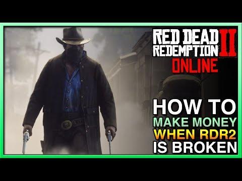 HOW TO MAKE Red Dead Redemption 2 Online Money When RDR2 Broken! Red Dead Online Update! FIX RDR2! thumbnail