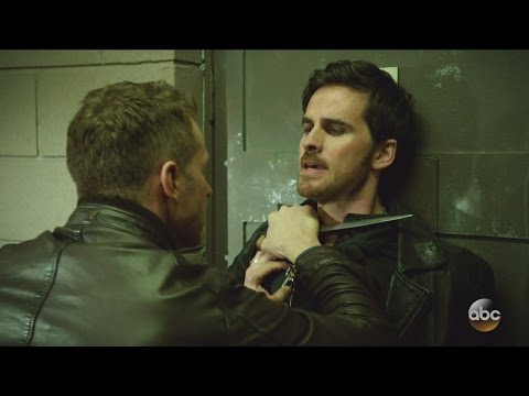 Once Upon A Time 6x12 Hook & Charming Fight