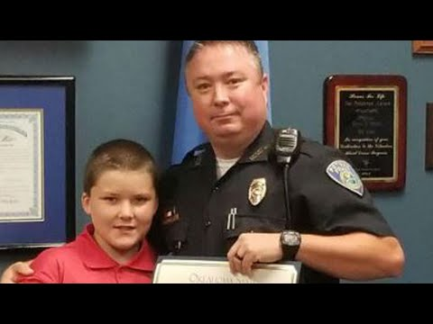 Police Officer Honored for Adopting Child Abuse Victim