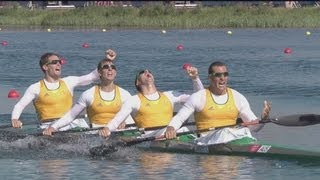 Australia Gold - Men's Kayak Four 1000m | London 2012 Olympics(, 2012-08-09T11:57:28.000Z)