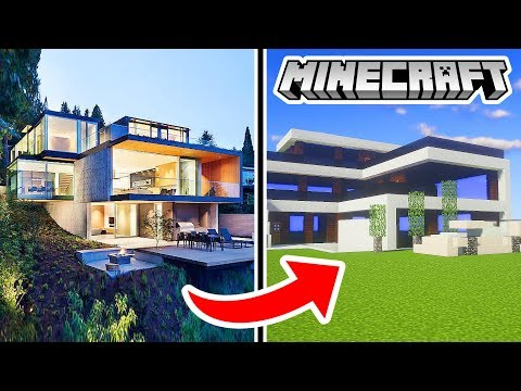 DENIS BUILDS HIS REAL LIFE HOUSE IN MINECRAFT