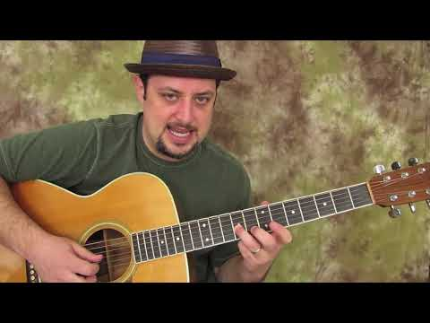 The Clapton Go to Acoustic Blues Scale ( Key of E)