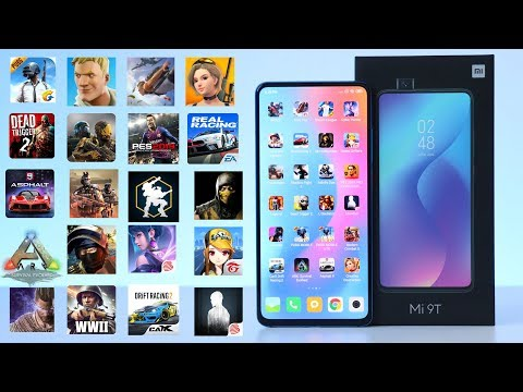 Game Test Xiaomi MI 9T 6GB RAM/128GB In 20 Games Android Fortnite - PUBG - ARK - Asphalt 9🔥