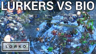 StarCraft 2: LURKERS VS BIO! (INnoVation vs Reynor)