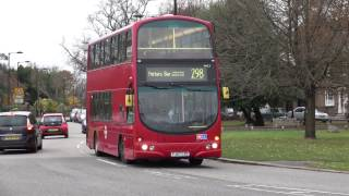Sullivan Buses route 298 at Southgate 24th Nov 2016