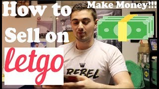 How To List Items on Letgo | Selling Items Ep. #1