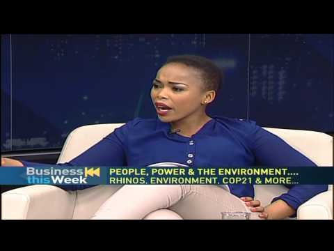 SA's Environmental Affairs Minister, Edna Molewa, speaks on COP21