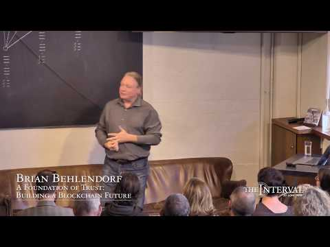Blockchain, a Return to Decentralization - Brian Behlendorf at The Interval at Long Now