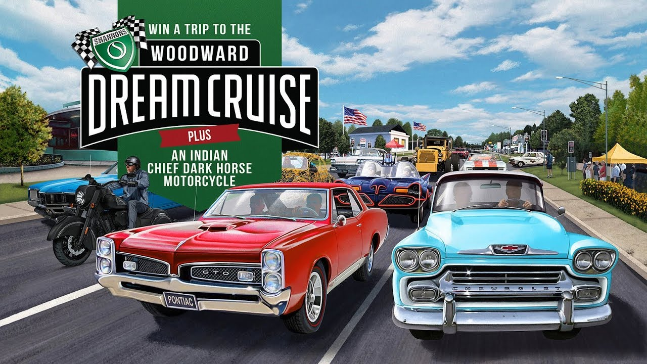 Win a Trip to the Woodward Dream Cruise in the USA