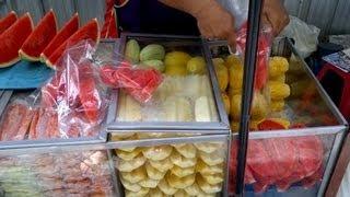 Thai Fruit on the streets of Bangkok