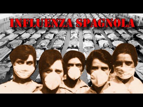 L'INFLUENZA SPAGNOLA, la pandemia più grave della storia