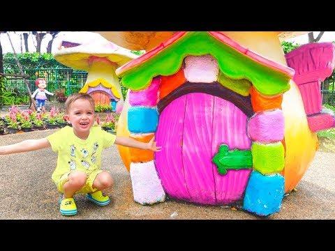 Công viên giải trí ở Bangkok Giờ chơi với Vlad và Nikita