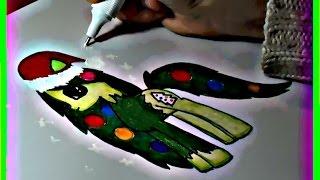 Я рисую пони. Как нарисовать пони Ёлочка. How to draw a pony Fir-tree.(Привет всем ! Я люблю рисовать. Посмотрите как рисовать пони Ёлочка. Все рисуют пони по разному. Я рисую пони..., 2015-01-04T11:34:53.000Z)