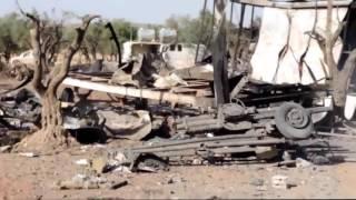 Сирия видео новости 2015  Авиация России уничтожила лагерь ИГИЛ в провинции Храйтан