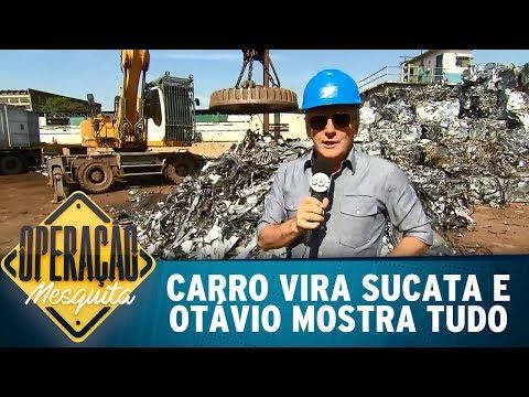 Carro Vira Sucata E Otávio Mostra Tudo | Operação Mesquita (21/05/17)
