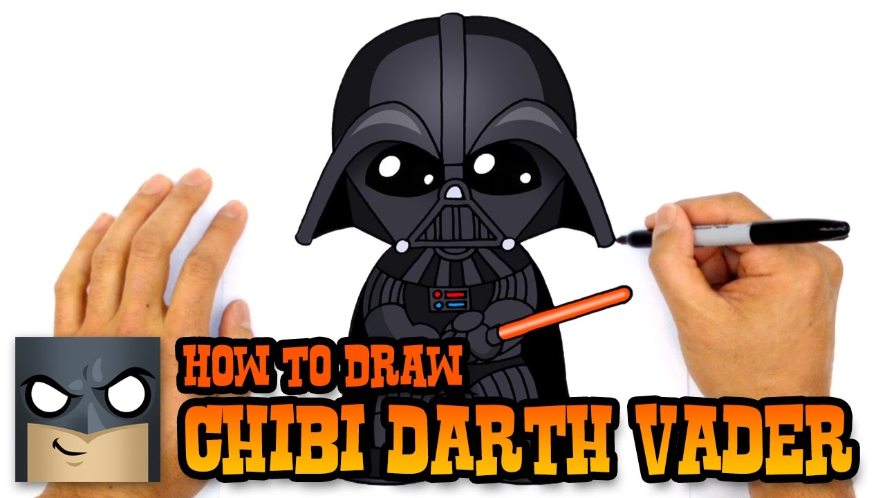 How To Draw Darth Vader Star Wars Youtube