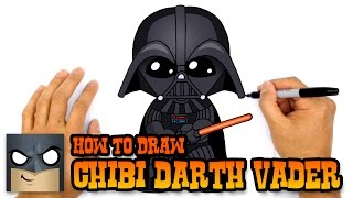 How to Draw Darth Vader | Star Wars