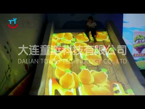 TOYOU INTERACTIVE PROJECTION SLIDE GAMES-Colorful Slide