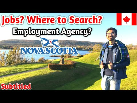 Nova Scotia|| How To Get Job In Nova Scotia||Cape Breton University|| In2Can Vlogs
