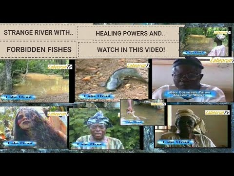 SOGIDI THE STRANGE RIVER WITH HEALING POWERS AND FORBIDDEN FISHES