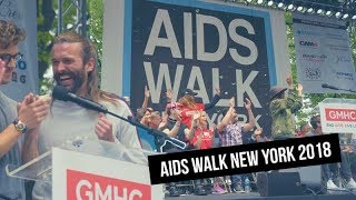 The AIDS WALK NEW YORK 2018 Recap from CAM4!