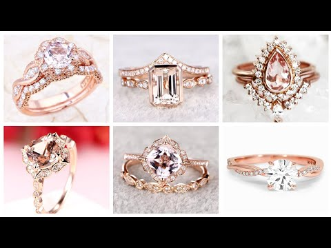 Gorgeously Beautiful Rose Gold And Diamond Wedding And Engagement Rings Collection