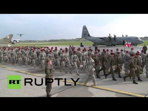 Poland: US troops