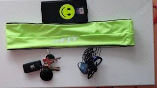 Jogging Gürtel / jogging belt from 2bfit | Nerdy Testing