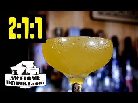 Understanding The 2:1:1 Cocktail Formula for Sours - Course 2 Lesson 05