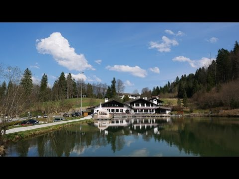 A Day in Garmisch-Partenkirchen (Bavaria/Germany) in 4K