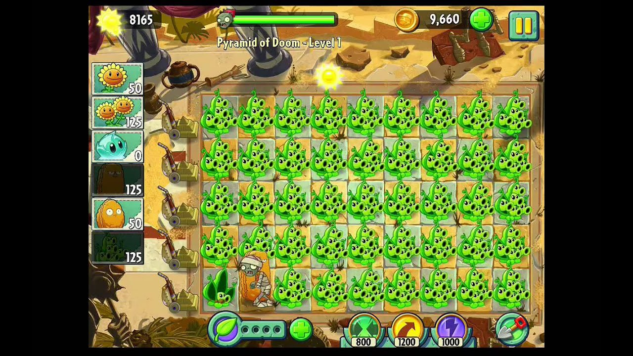 Plants vs zombies 2 pea pod party youtube voltagebd Gallery