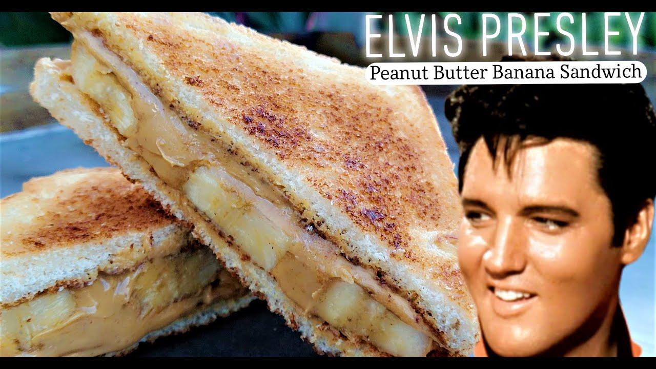 Fried Peanut Butter Banana Sandwich The Original Graceland Recipe Elvis Presley Sandwich Youtube