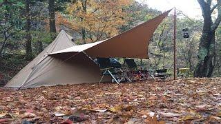 2016年11/20-21 今回はサーカスTC初導入ということで道志の森キャンプ...