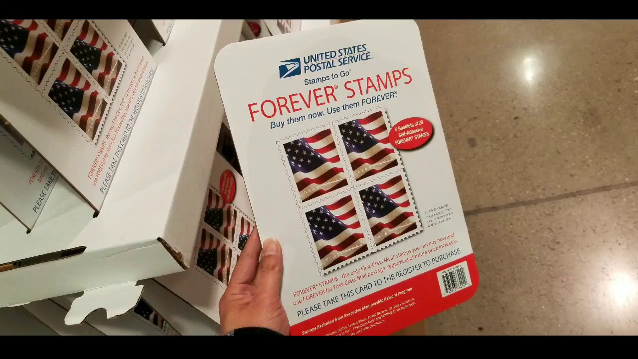 Costco Us Forever Stamps 100 For 49 75 Ends Soon