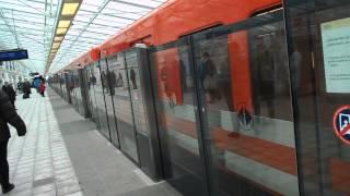 Platform Screen Doors, Helsinki Underground, Vuosaari.