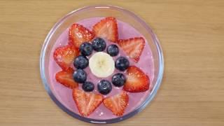 Йогурт из замороженных фруктов