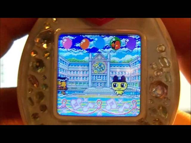 Tamagotchi Pierce  Aikatsu Dream Academy ver for Tamagotchi P/'s Bandai Virtual Pet Giga Pet FS