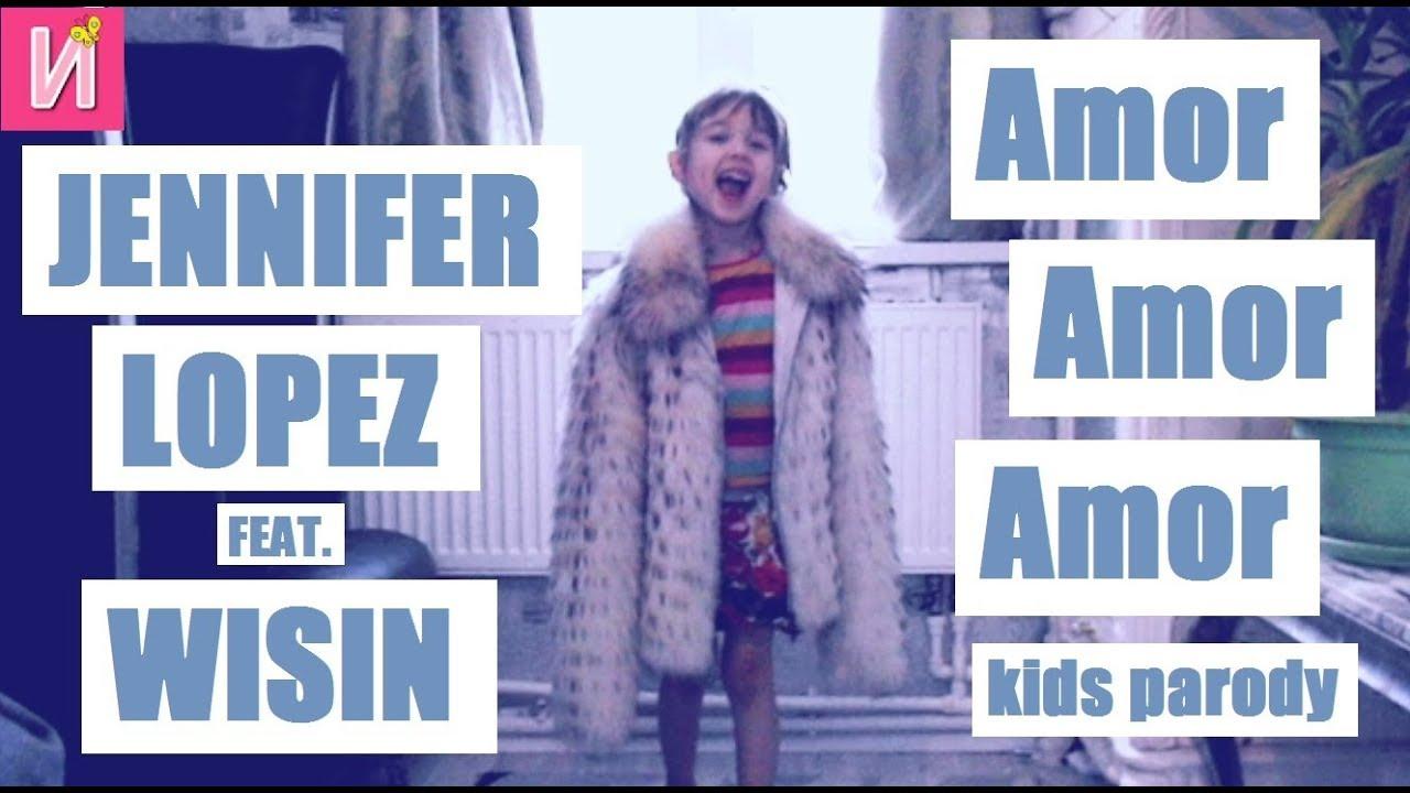 ❀ Премьера клипа Jennifer Lopez feat. Wisin - Amor, Amor, Amor rids Parody