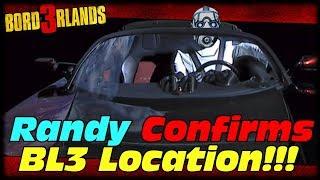 Randy Pitchford CONFIRMS Borderlands 3 Location!!! Borderlands 3 Promethea Easter Egg Confirmed!!!