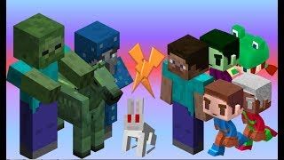 Unused Mobs vs Removed Mobs [One on one!] - Minecraft Mob Battle