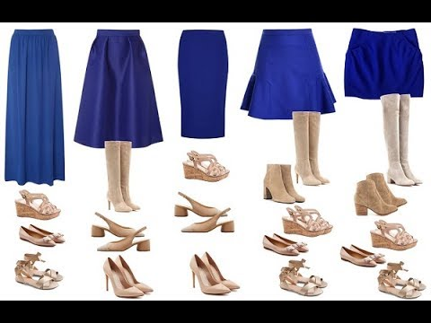 Cómo Elegir Los Zapatos Según El Largo De Falda Para Estilizarte