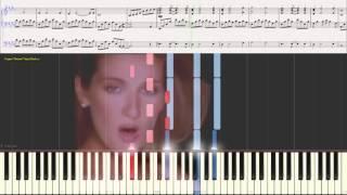 My Heart Will Go On - Celine Dion(Ноты и Видеоурок для фортепиано) (piano cover)