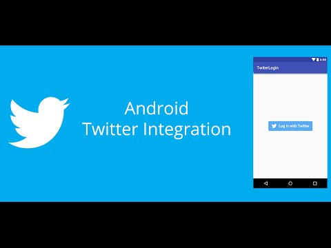 Android Twitter Integration Part1