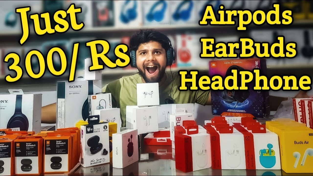 Cheap Original AirPods Pro, OnePlus, Mi Buds Just 300/rs I Mobile Accessories Wholesale Market