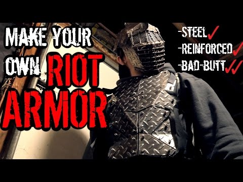 How to Make: Steel RIOT Armor (Signature ZNA Armor UPGRADE)